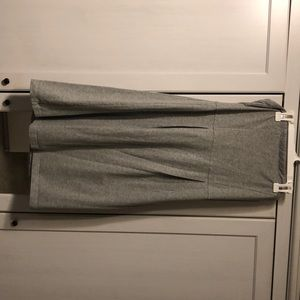 Gray Pencil-Skirt Dress